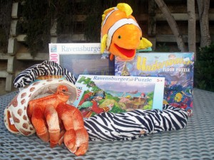 Books, Puzzles, Stuffed Sea Creatures and more!