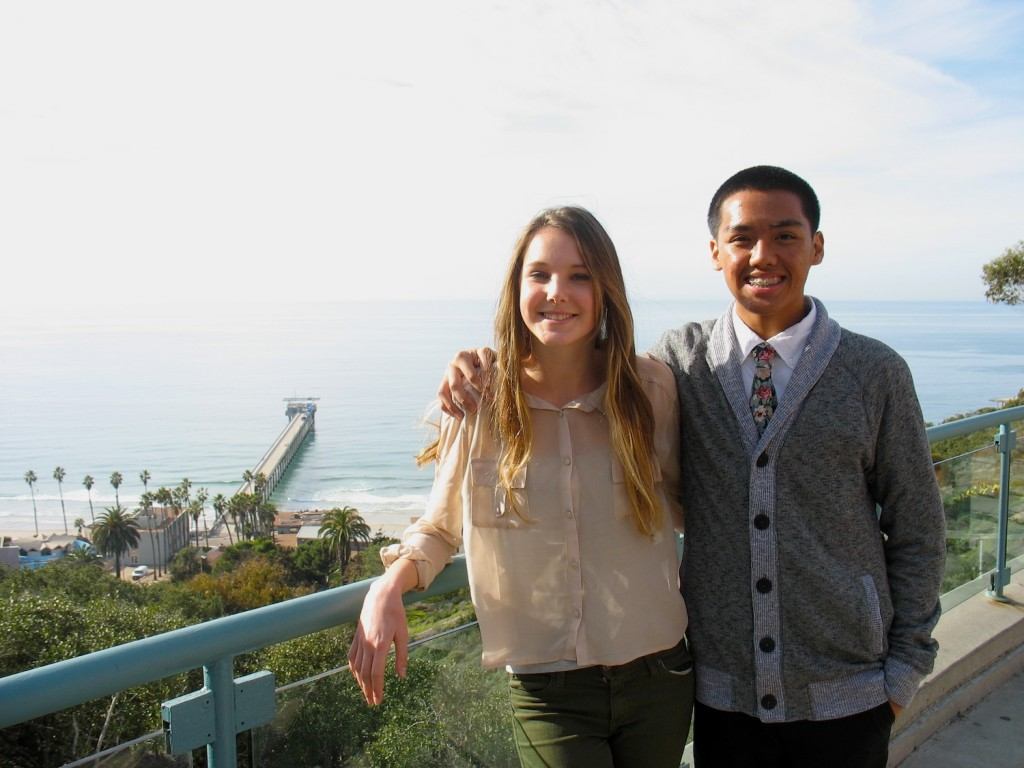 High School Interns at Birch Aquarium