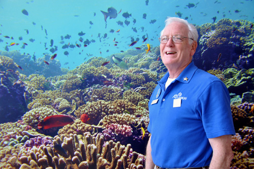 Volunteer Don Ward