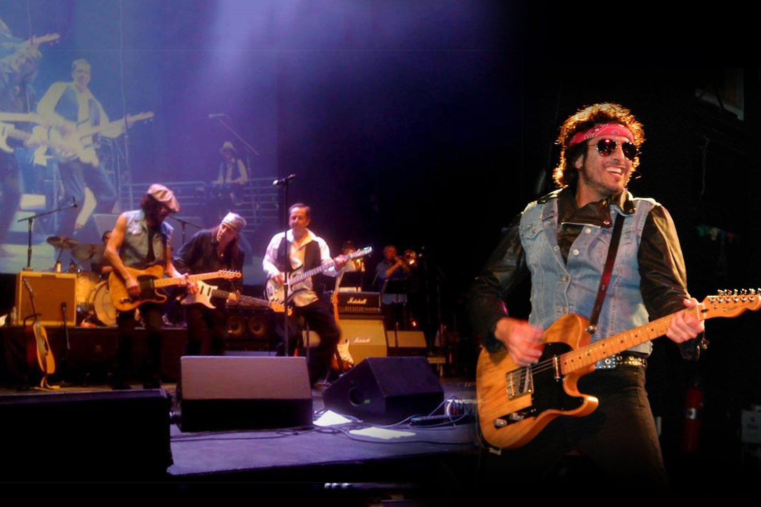 Green Flash Concert: Livin' On A Prayer and The Springsteen Experience